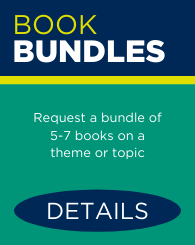 Text: Book Bundles: Request a bundle of 5-7 books on a theme or topic. Links to Book Bundles page.