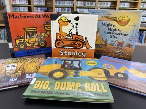 A Book Bundle of recommended books for children interested in construction