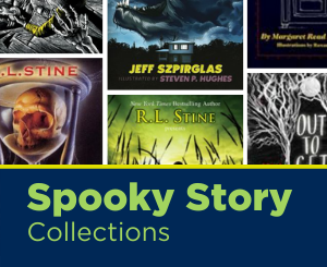 Text: Spooky Story Collections. Links to Spooky Story Collections (Youth) Book list