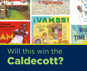 Text: Will this win the Caldecott? Links to the Caldecott booklist