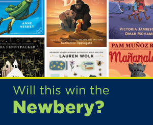 Text: Will this win the Newbery? Links to Newbery booklist