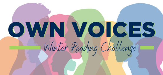 Text: Own Voices Winter Reading Challenge