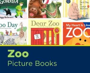 Text: Zoo Picture Books